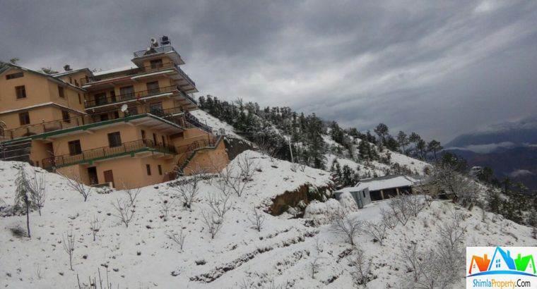Hotel & Land for sale in Shimla